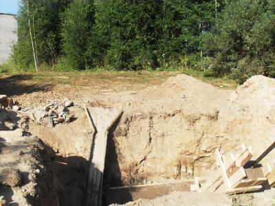 Фундамент нового моста