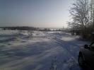 Озеро Велье зимой